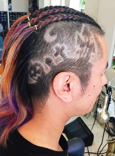バリアート 目立つ 髪型